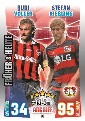 610 BAYER 04 LEVERKUSEN [PAST & PRESENT DUO]