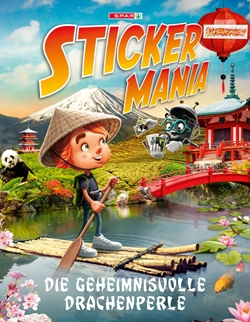Stickermania_Drachenperle_Album