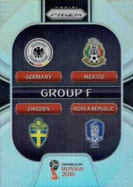 2018 Panini - Russia 2018 Prizm - Group F