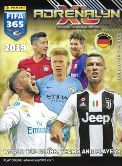 PANINI ADRENALYN XL FIFA 365 2019 Marco Reus Limited Edition Karte
