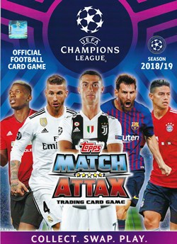 Vorstellung Match Attax Uefa Champions League Season 2018