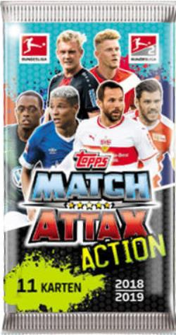 Match Attax Action Bundesliga 2018 2019 Sammelbild Info